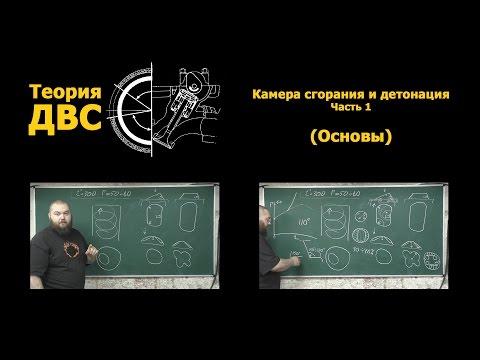 Теория ДВС: Камера сгорания и детонация Часть 1 (Основы)