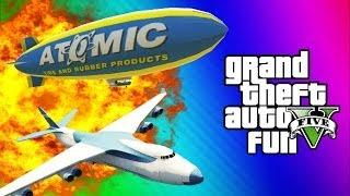 getlinkyoutube.com-GTA 5 Online Glitches & Mods - Tank Teleport Glitch, Cargo Plane, Blimp Fun (GTA 5 Funny Moments)