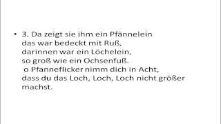 getlinkyoutube.com-Der Pfannenflicker - karaoke