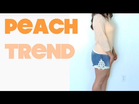 Fashion Friday: Peach Trend