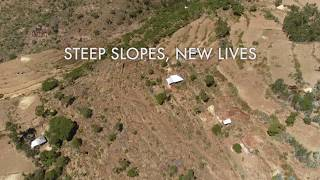 Steep slopes, new lives: Young farmers in Ethiopia