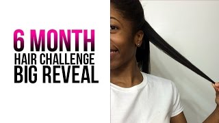 getlinkyoutube.com-6 Month Hair Challenge Results | SistaWithRealHair Contest