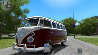 City Car Driving 1.4.1 VW Camper / Bus T1 [Logitech G27]