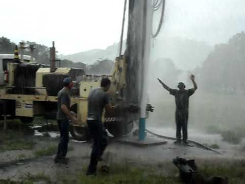 Perfuração de poço de água mineral em Barra Bonita - SC