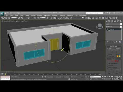 3ds max - Simple house tutorial - HD