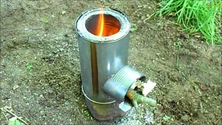 getlinkyoutube.com-Rocket Stove - Review & Testing