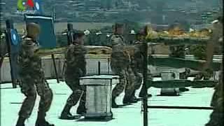 getlinkyoutube.com-تمارين بيانية لفيلق مشاة الإغارة بحضور رئيس الجمهورية