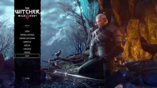 getlinkyoutube.com-The Witcher 3: Wild Hunt - Options: Audio, Dual Shock 4 Controller Button Layout, Display, Language