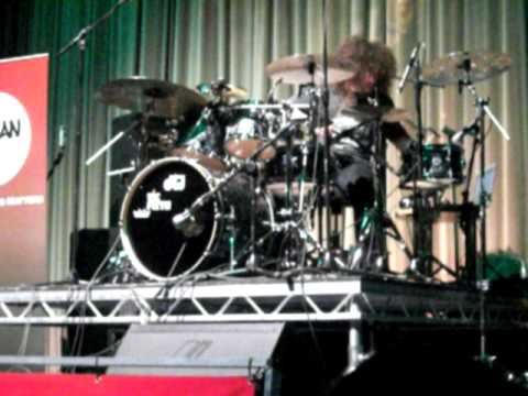 Dave Elitch - Mars Volta - Drum Solo at the London Drum Show