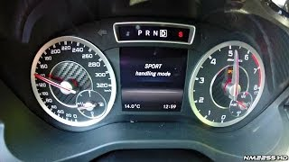 getlinkyoutube.com-Mercedes A45 AMG Launch Control 0-150 km/h
