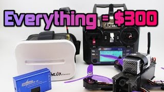 getlinkyoutube.com-How to get FPV DRONE RACING for under $300! Parts +Full setup.