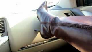 getlinkyoutube.com-9 west brown knne boots