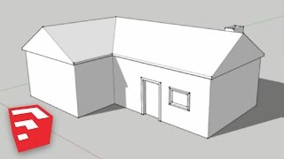 getlinkyoutube.com-SketchUp 8 Lessons: Making a Simple House