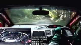 getlinkyoutube.com-Touge Hot Hatch FF Battle MINI vs CIVIC Type R