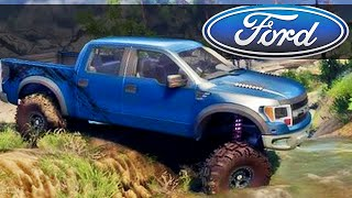 getlinkyoutube.com-Ford Raptor - Spin Tires