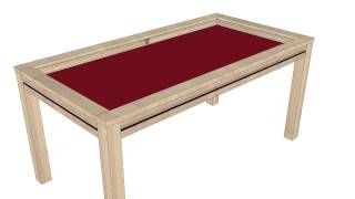 getlinkyoutube.com-Geekenson DENIS - affordable gaming table