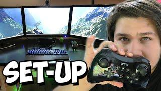 getlinkyoutube.com-SET-UP GAMER Youtuber   Como Graba Riserbeck   Mi Cuarto