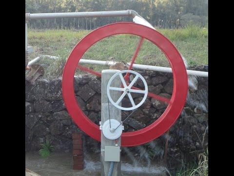 Sistema de Geração de Energia em Roda d'Água - Canela/RS