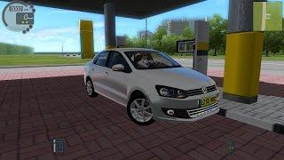 getlinkyoutube.com-City Car Driving 1.4.1 VW Polo Sedan [G27]