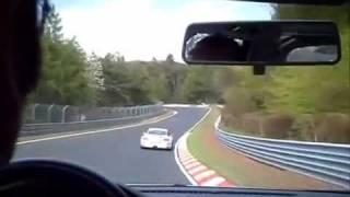 Porsche GT3 Drift Crash Nürburgring Nordschleife