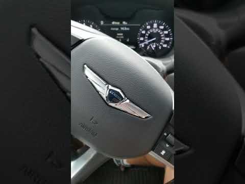 Genesis G80 Sport steering wheel noise