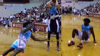 DAMN!! Zach LaVine DROPS Defender With SLICK Hesitation Move at Seattle Pro-Am!