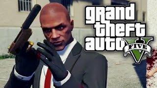 getlinkyoutube.com-GTA 5 UNLIMITED #10 - HITMAN IN GRAND THEFT AUTO! (GTA V Online)