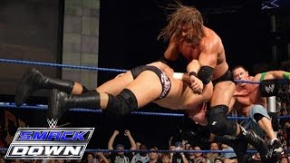 getlinkyoutube.com-Undertaker, John Cena & D-Generation X vs. CM Punk & Legacy: SmackDown, October 2, 2009