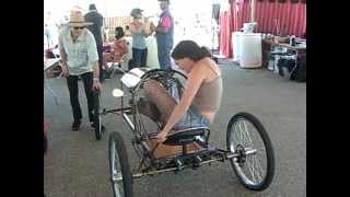 getlinkyoutube.com-Manpower cycles bikes competition - DIY