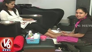 Spa Pedicure : Summer Special Beauty Tips | Pinks N Bloos | Beauty Tips | V6 City Life