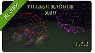 getlinkyoutube.com-Como funciona tu aldea VILLAGE MARKER MOD (1.7.2)