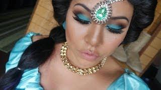 Tutorial de maquillaje y peinado Halloween: Princesa Jazmín - Juancarlos960