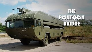 getlinkyoutube.com-M3 Amphibious Rig … World's greatest pontoon bridge?