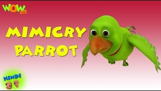 getlinkyoutube.com-Mimicry Parrot -  Motu Patlu in Hindi