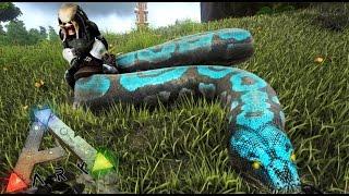 getlinkyoutube.com-SERPIENTE GIGANTE - NUEVOS ANIMALES!! :D - ARK survival Evolved #30 - Nexxuz