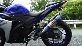 getlinkyoutube.com-MotoGear R25 プリズムツインフルエキ サウンド