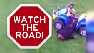 getlinkyoutube.com-Fail Compilation Of Adorable Kids Driving Toy Cars