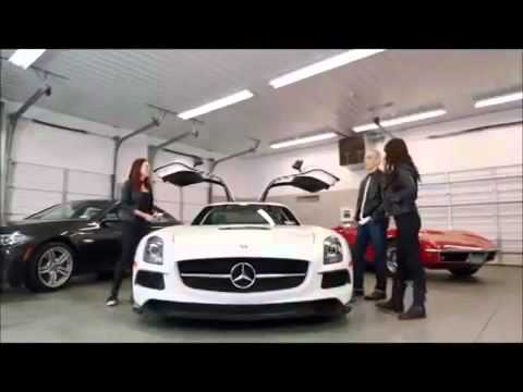 Riding Shotgun With Michelle Rodriguez Chris Mazzilli 1x07 Mercedes SLS AMG