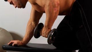 getlinkyoutube.com-How to Do a Dumbbell Kick | Arm Workout