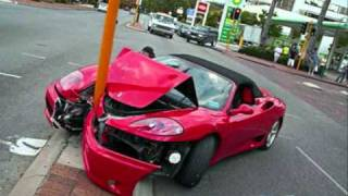 getlinkyoutube.com-Crash : voiture de luxe, le avant apres