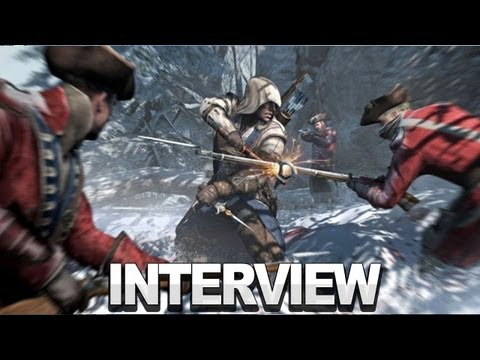 Assassin's Creed III Gameplay and Interview - E3 2012