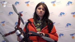 getlinkyoutube.com-Квадрокоптер своими руками. Отзывы учащихся.