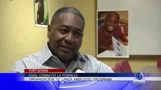 Larry Aguilar habla de un ambicioso programa para combatir la pobreza