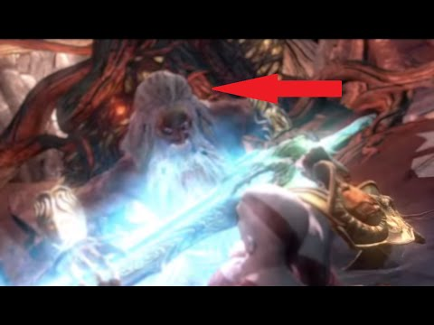 God of War III - Kratos vs Zeus (Titan Mode - Inside Gaia)