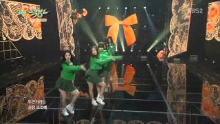 getlinkyoutube.com-[HIT] 뮤직뱅크-여자친구(GFRIEND) - 유리구슬(Glass Bead).20150227