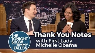 flushyoutube.com-Thank You Notes with First Lady Michelle Obama