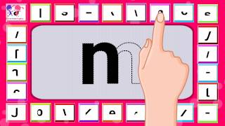getlinkyoutube.com-How to Learn & Write English Alphabets Easily for Preschoolers, Toddlers, Kindergarten & Children