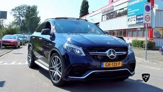 getlinkyoutube.com-NEW 2016 Mercedes-AMG GLE 63 S Coupe w/ 585 HP! Looks & Exhaust SOUNDS!