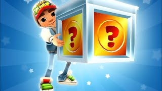 getlinkyoutube.com-Subway Surfers: Opening 37 Super Mystery Boxes from Wordy Weekend