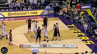 getlinkyoutube.com-Ben Simmons Highlights vs Georgia